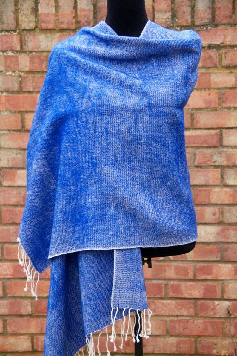 Yak Wool Throws Blanket Large Shawl Handmade Meditation Wrap Travel Wrap Nepal