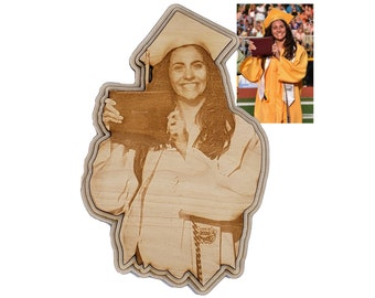 Custom Laser Engraved Graduation Gift Personally Shaped Plaque