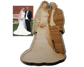 Anniversary Personally Shaped Plaque