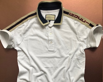 71aca1272 VINTAGE gicci polo t-shirt inspired quality made in italy