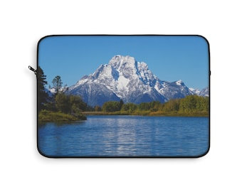 Laptop Sleeve - Mount Moran and the Snake River