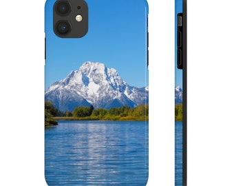 Case Mate Tough Phone Cases - Mount Moran and the Snake River