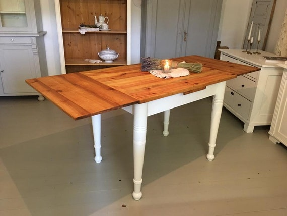 Pull Out Kitchen Table Top Interesting Gorgeous Antique PullOut Dining Table Table Shabby Chic Vintage Old 5910 10