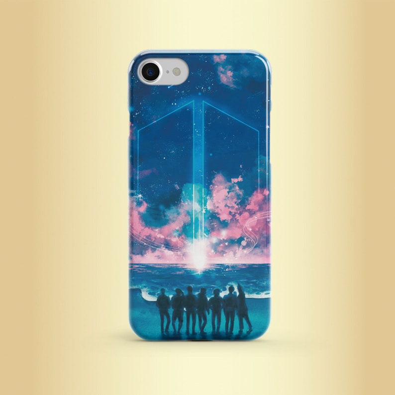 Bts Korean kpop iPhone XS max case BTS wings fake love Pixel Samsung S10  Plus iPhone 7 iPhone 8 iPhone 6 Plus iPhone X Samsung S8 S9 S10e