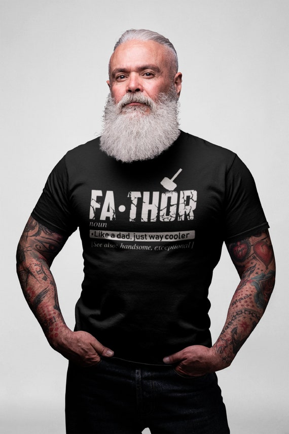 Fathor Like A Dad Just Way Mightier T-Shirt Father/'s Day Men Unisex Gildan Tee