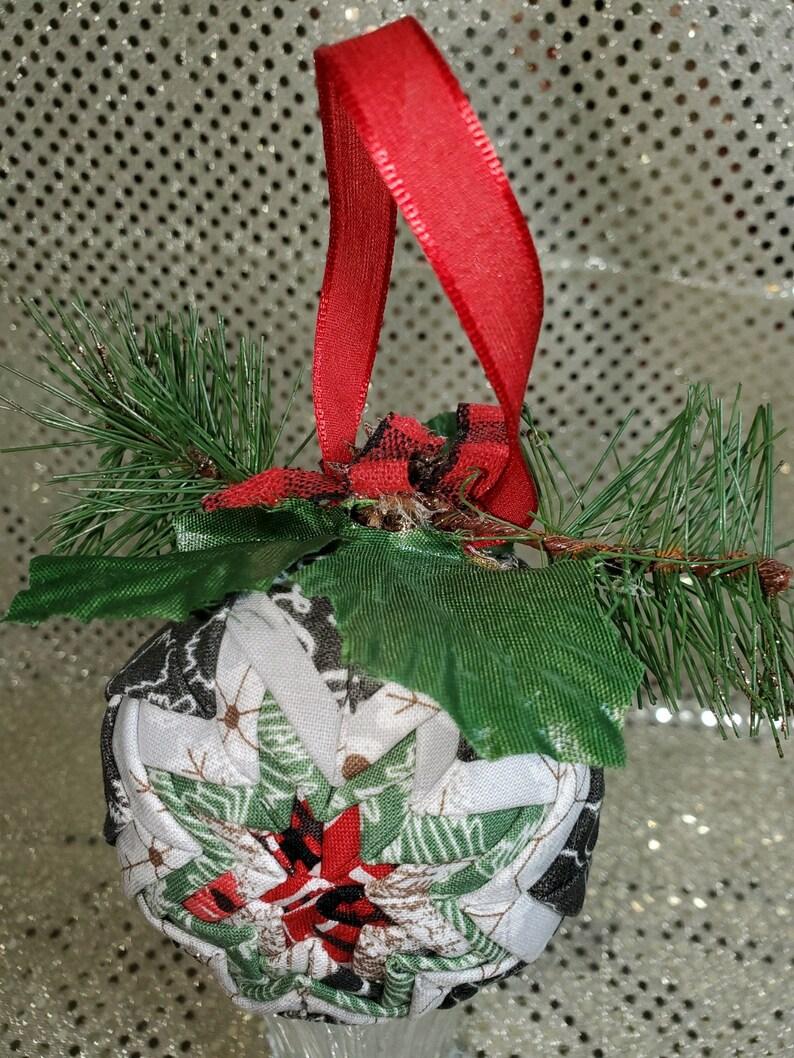 Christmas Tree Fabric Ornament