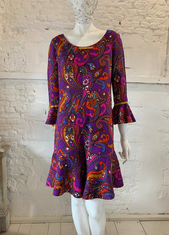 Vintage 1960s  Young Edwardian by Arpeja psych Mod