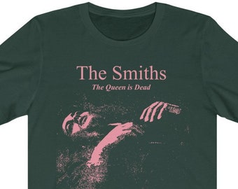 The Smiths Meat Is Murder Morrissey Rockband Manchester Unisex T-Shirt