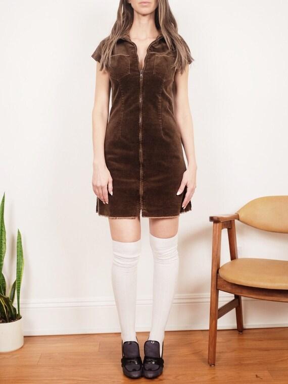 """Vintage Corduroy Dress - """"Strike A Corduroy"""""""