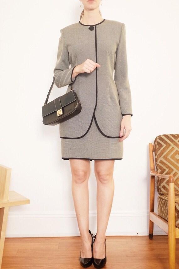 "Vintage Work Dress - ""Full Court Dress"""