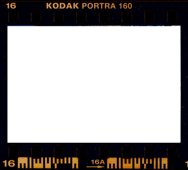 Kodak Portra Film Frame Overlay
