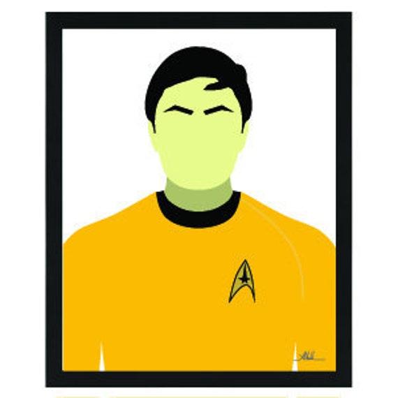 Star Trek TOS LIEUTENANT UHURA Picture Adult T-Shirt All Sizes