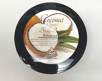 Natural Organic Vegan Coconut Body Butter