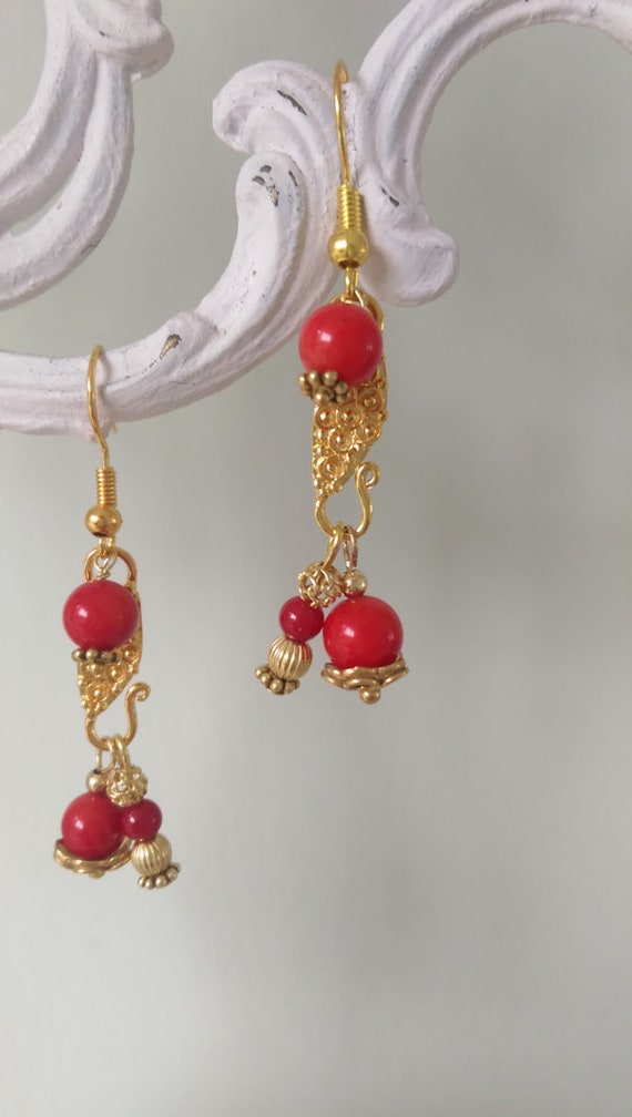 Coral and Vermeil
