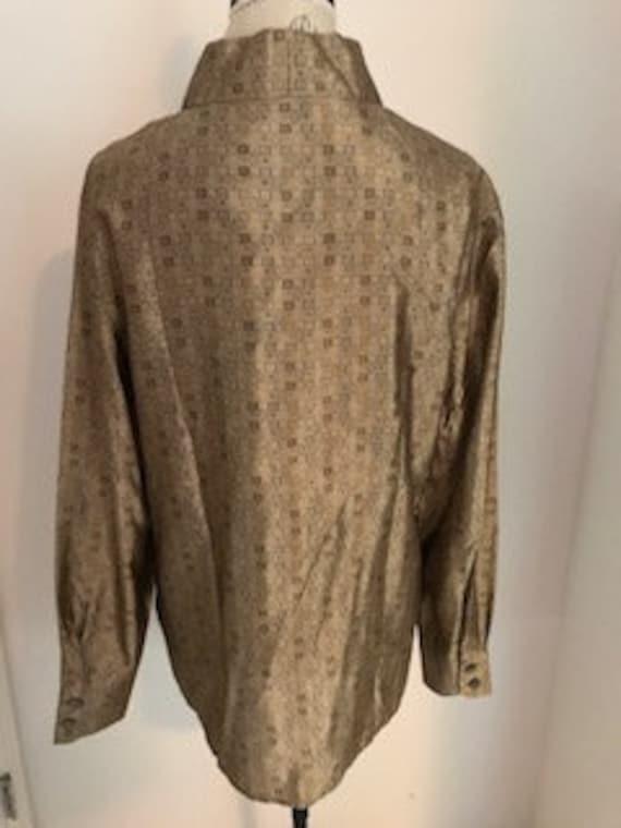 1990s Vintage 100% Silk Blouse by Designer Escada… - image 2