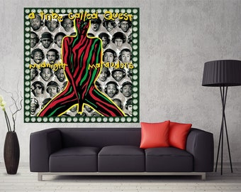 A Tribe Called Quest Midnight Marauders Art POSTER Wall Decoration X-380