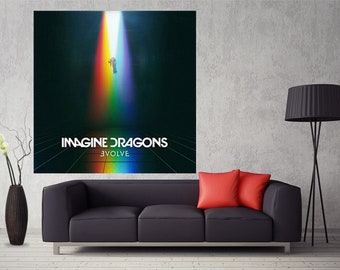 Imagine Dragons Thunder Custom New Art Silk Poster Wall Decor