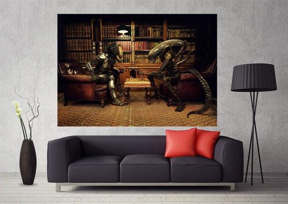 Alien VS Predator Movie Silk Poster Print 13x20 24x36 inch 008