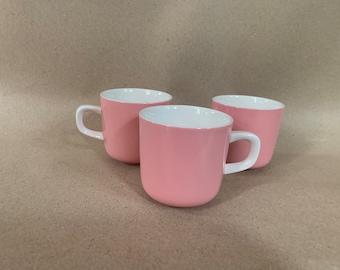 Vintage Mikasa Pastelle Japan Pink Coffee Mug/Tea Cup