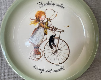 Vintage Holly Hobby Large Plate Collectors Edition