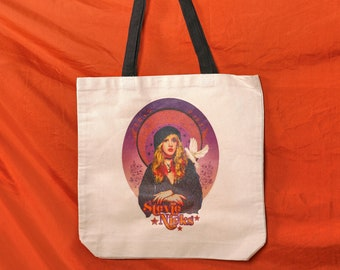Stevie Nicks Inspired Gypsy That I Was Lyric Art On A Roomy 24X13 Inch Weekender Bag Tote