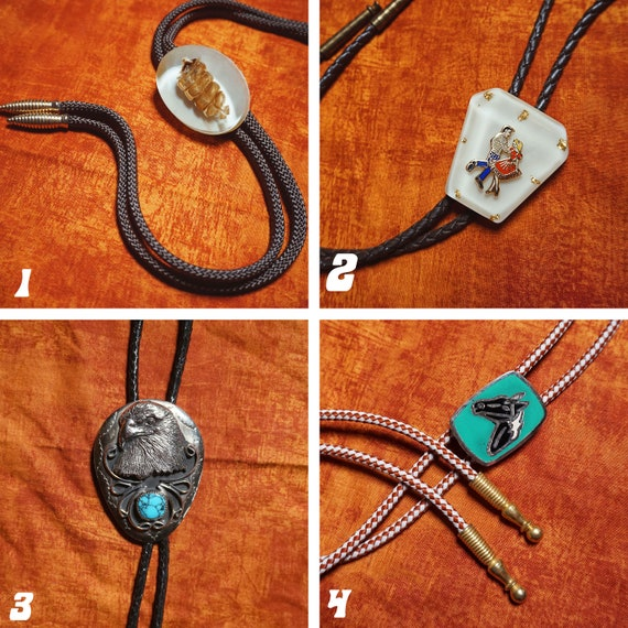 Vintage Bolo Ties 1980s-1990s - image 2