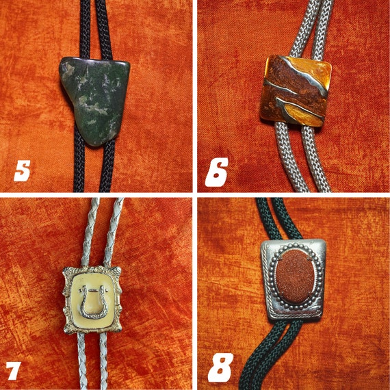 Vintage Bolo Ties 1980s-1990s - image 3
