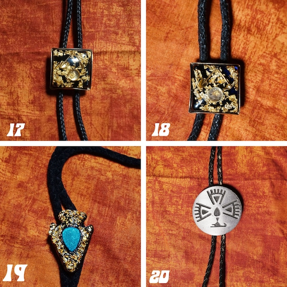 Vintage Bolo Ties 1980s-1990s - image 6