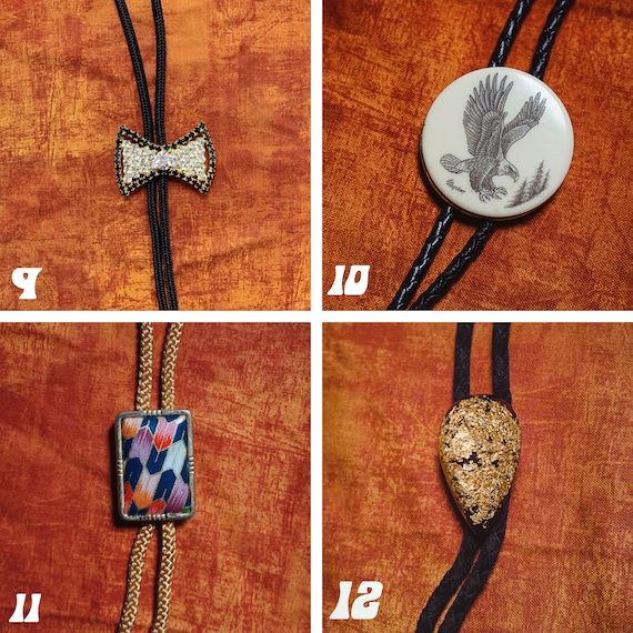 Vintage Bolo Ties 1980s-1990s - image 4