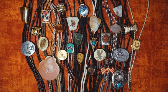 Vintage Bolo Ties 1980s-1990s - image 1