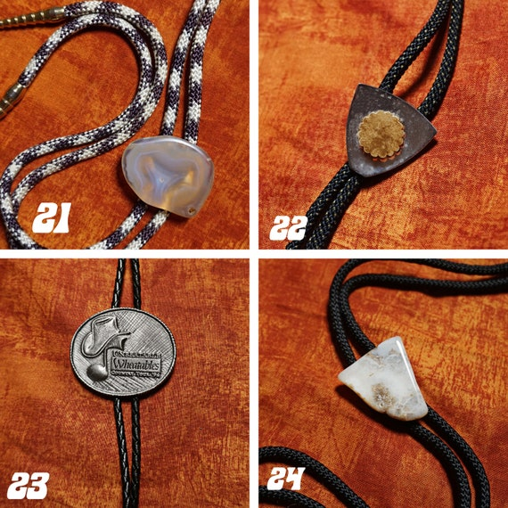 Vintage Bolo Ties 1980s-1990s - image 7