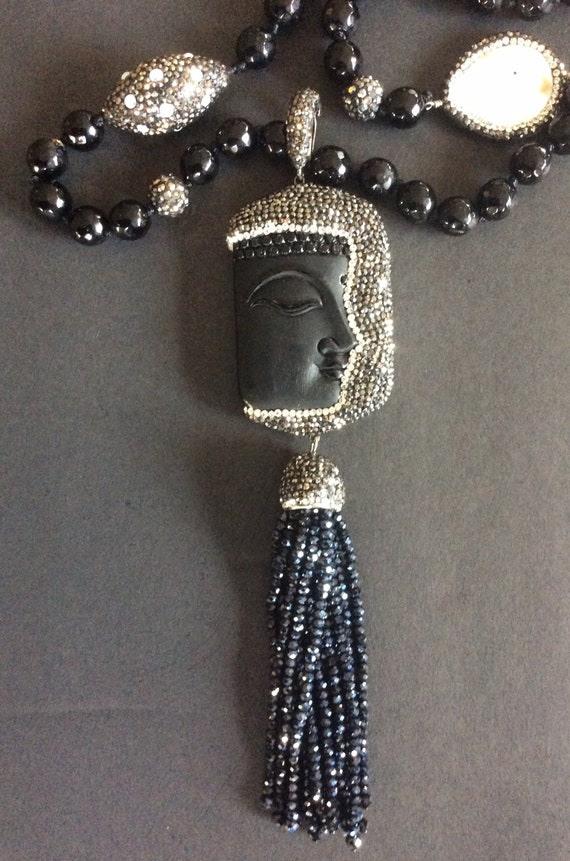 Egyptian Face Necklace