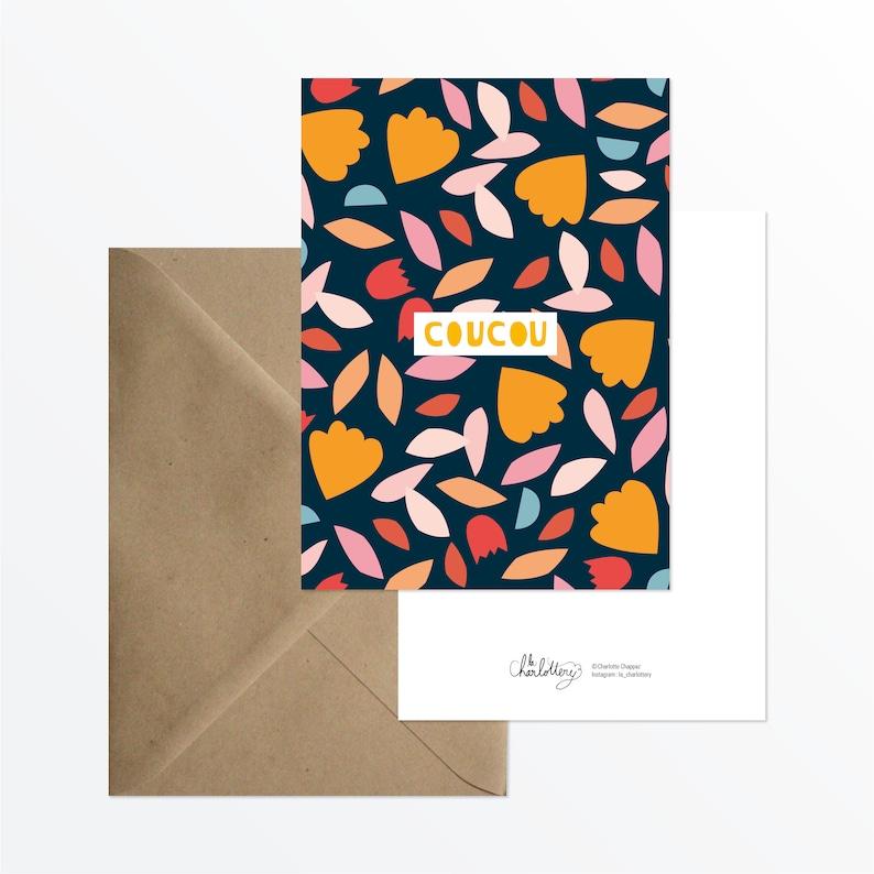 Large postcard /' cuckoo /'