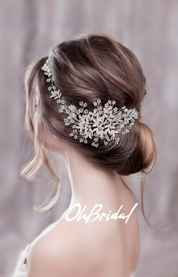 Bridal Hair Vine Bridal Hair Clip Wedding