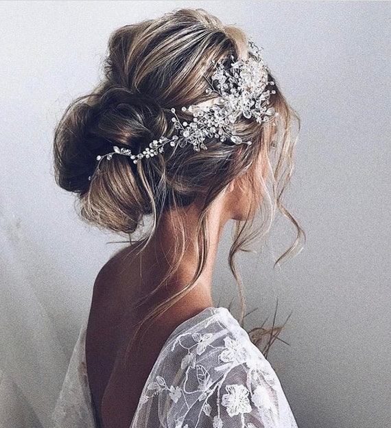 Crystal Bridal Hair Piece Wedding Hair Accessories
