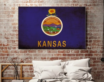 Kansas flag wall art | Etsy on fancy map, cauldron map, amulet map, halloween map, alchemy map, honey map, ruby map, silver map, freshwater map, programming language map, potter map,