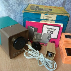 Vintage Mansfield Skylark 300 Slide Projector 4 Retractable Lens Model 839 Film Photo Great Condition Retro Lamp Steampunk Tested Works