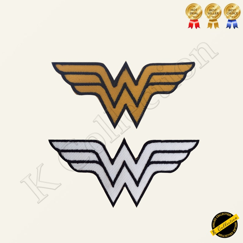 Wonder Woman Super Hero Movie Comics Video game Embroidered Iron on Sew On  Patch Badge