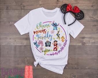 76cb6760d Ohana means family shirt | Etsy