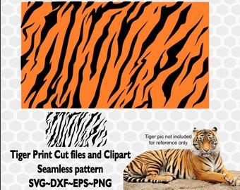 picture about Tiger Stripe Stencil Printable called Tiger stripe stencil Etsy