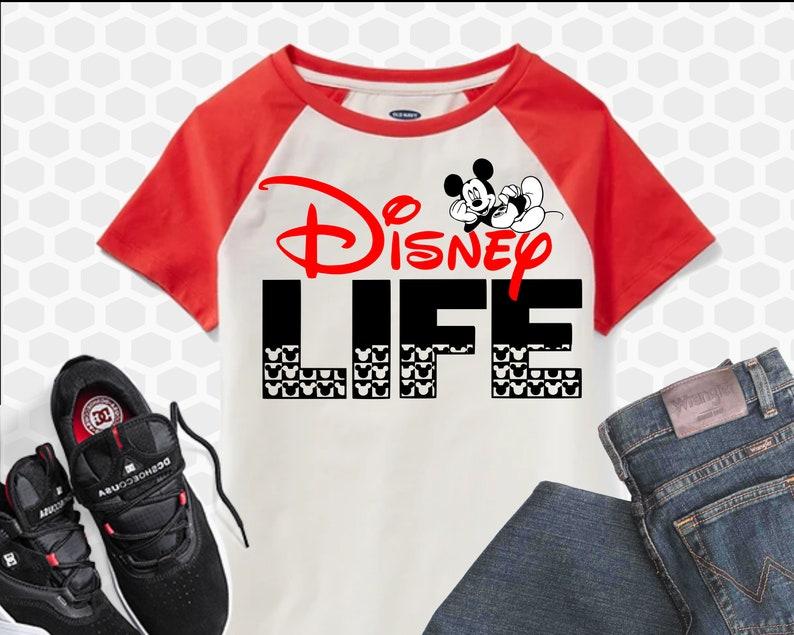 Disney Life Svg Mickey Mouse Svg Disney Svg Files Disney Etsy