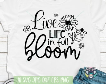 Mama/'s little sunflower svg sunflower svg floral png Shirt quotes inspirational tshirts wildflower svg design sublimation Cricut Silhouette