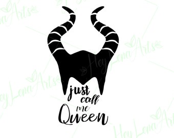 Maleficent Svg Dxf Eps Studio Jpeg Png File For Etsy