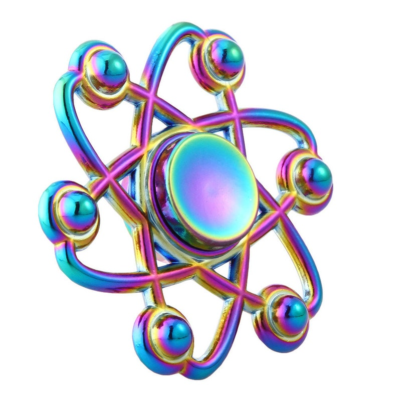 Things Tagged With Venus  Rainbow Metal Fidget Spinner  Personalized Spinner  Nerdy Party Favor  Kid/'s Birthday Gift  Stress Relief Toy