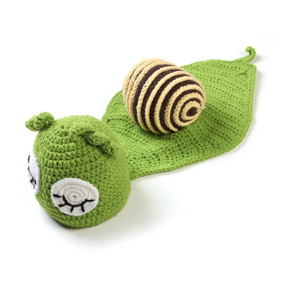 snail costume for newborn Photo prop.