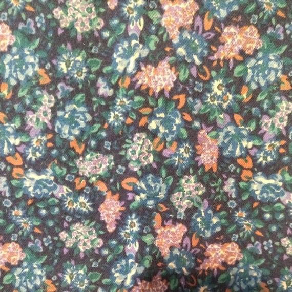 Vtg 80s 90s Laura Ashley Floral Prairie cottageco… - image 7
