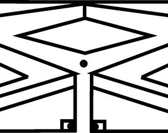 Tv antenna | Etsy