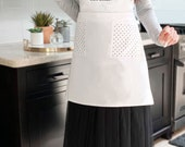 Personalized Apron for Womens Aprons Personalized Custom Aprons for Women Aprons with Pockets Hostess Gift Ideas Baking Gifts (EB3242CTW) photo