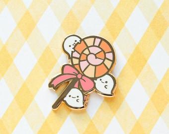 Boo Boo Lollipop (Moody Halloween) Hard Enamel Pin