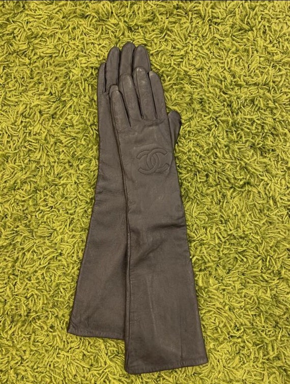 Batulu Women's Winter Leather Gloves Color - Black